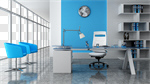 Сlipart Office Contemporary Desk Indoors Furniture 3d cut out BillionPhotos