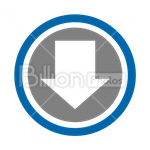 Сlipart downloading download arrow sign arrow direction vector icon cut out BillionPhotos