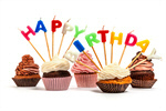 Сlipart Birthday Birthday Cake Cupcake Candle Chocolate photo  BillionPhotos