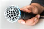 Сlipart Microphone Interview Human Hand Sound Recording Equipment interviewee photo  BillionPhotos