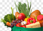 Сlipart Groceries Bag Fruit Healthy Eating Food photo cut out BillionPhotos