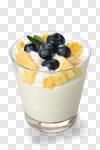 Сlipart yogurt muesli yoghurt fruit isolated photo cut out BillionPhotos