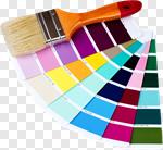 Сlipart Paint Paintbrush Color Swatch Color Image House photo cut out BillionPhotos