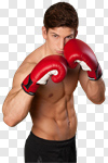 Сlipart Boxing Kickboxing Men Fighting Sport photo cut out BillionPhotos