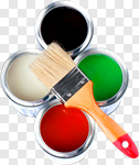 Сlipart Paint Paint Can Hardware Store Can Paintbrush photo cut out BillionPhotos