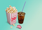 Сlipart Popcorn Soda Movie Drink Movie Ticket   BillionPhotos