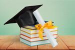 Сlipart Graduation Diploma Mortar Board Book Cap   BillionPhotos
