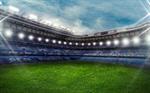 Сlipart stadium soccer field backgrounds sunlight vector  BillionPhotos