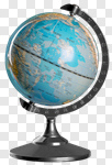 Сlipart Globe Education Isolated Earth Map photo cut out BillionPhotos