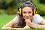 Сlipart Music Headphones Listening Women Relaxation photo  BillionPhotos