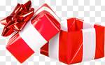 Сlipart Gift Open Box Christmas Red photo cut out BillionPhotos