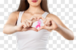 Сlipart Breast Cancer Breast Cancer Awareness Ribbon Pink Women Heart Shape photo cut out BillionPhotos