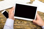 Сlipart ipad imac hand laptop app photo  BillionPhotos