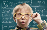 Сlipart kid think maths school mind   BillionPhotos