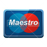 Сlipart credit card card bank card Interbank Network Maestro vector icon cut out BillionPhotos