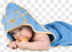 Сlipart Baby Towel Baby Goods Babies Only Child photo cut out BillionPhotos