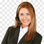 Сlipart Customer Service Representative Service Telephone Call Center Business photo cut out BillionPhotos