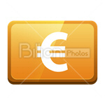 Сlipart Euro sign Euro Money Currency Finance vector icon cut out BillionPhotos
