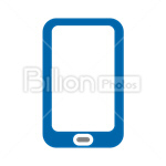 Сlipart Phone Mobile Phone Smartphone Smart Phone Telephone vector icon cut out BillionPhotos