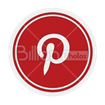 Сlipart pinterest Sharing Bookmark Social Media social button vector icon cut out BillionPhotos