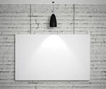 Сlipart poster white blank brand brick 3d  BillionPhotos