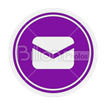 Сlipart message send mail send e-mail envelopSharing vector icon cut out BillionPhotos