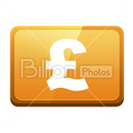 Сlipart Pound sterling Pound sterlings Pound Sterling Money vector icon cut out BillionPhotos