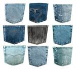 Сlipart Pocket Jeans Denim Blue Textile photo  BillionPhotos