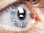 Сlipart cataract eye hologram sight blind   BillionPhotos