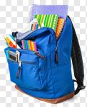 Сlipart school backpack school backpack back full photo cut out BillionPhotos