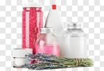 Сlipart Cosmetics Spa Treatment Moisturizer Lavender Bottle photo cut out BillionPhotos