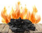 Сlipart charcoal carbonize carbon coal lump   BillionPhotos