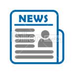 Сlipart Newspaper News Media Print Media Press vector icon cut out BillionPhotos