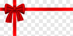 Сlipart Bow Gift Ribbon Christmas Red vector cut out BillionPhotos