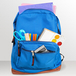 Сlipart backpack school bag open knapsack   BillionPhotos