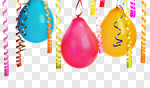 Сlipart Party Balloon Backgrounds Celebration Streamer photo cut out BillionPhotos