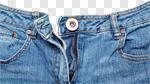 Сlipart Jeans Zipper Denim Unzipped Button photo cut out BillionPhotos