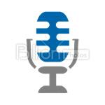 Сlipart Microphone Equipment Audio Equipment  Audio Sound vector icon cut out BillionPhotos