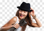 Сlipart singer woman person concert artist photo cut out BillionPhotos