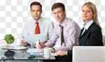Сlipart Business Meeting Businessman Office Team photo cut out BillionPhotos