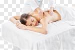 Сlipart pampering girl woman enjoying back photo cut out BillionPhotos