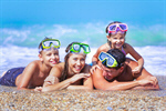 Сlipart beach snorkelling snorkel summer sea photo  BillionPhotos