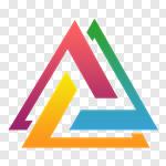 Сlipart Abstract Design Element Multi Colored Geometric logo vector cut out BillionPhotos