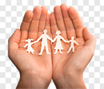 Сlipart Family Human Hand Protection Child Safety photo cut out BillionPhotos