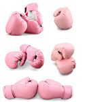Сlipart Pink Boxing Gloves Pink Breast Cancer Sports Glove Boxing Glove   BillionPhotos