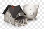 Сlipart House Loan Savings Piggy Bank Home Improvement photo cut out BillionPhotos