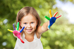 Сlipart school kids game painted color   BillionPhotos