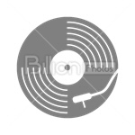 Сlipart Vinyl Gramophone record Phonograph record Record Music vector icon cut out BillionPhotos