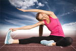 Сlipart stretching woman yoga posture attractive   BillionPhotos