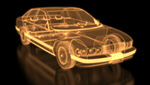 Сlipart Car Technology Three-dimensional Shape X-ray Image Blueprint 3d  BillionPhotos